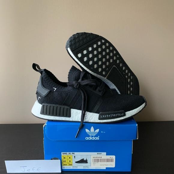 Adidas Shoes Nmd R1 Japan Boost Black Primeknit Poshmark
